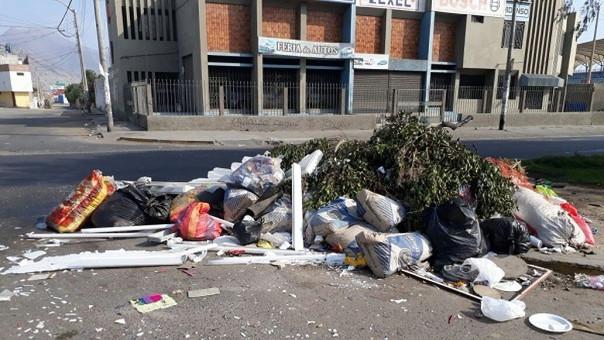 Basura en Trujillo