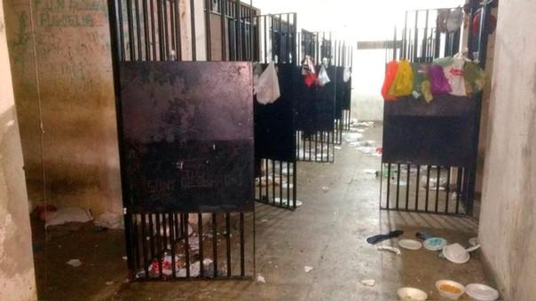 Una imagen del interior del penal