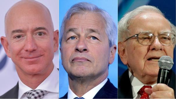 Jeff Bezos (Amazon), Jamie Dimon (JP Morgan) y Warren Buffet (Berkshire Hathaway) se unen para revolucionar el sector salud en Estados Unidos.