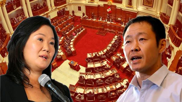 Las diferencias entre las facciones de Keiko Fujimori y Kenji Fujimori ha roto la mayoría de Fuerza Popular en el Congreso.