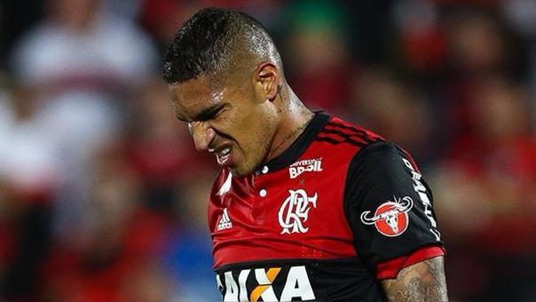Paolo Guerrero juega en Flamengo desde el 2015.