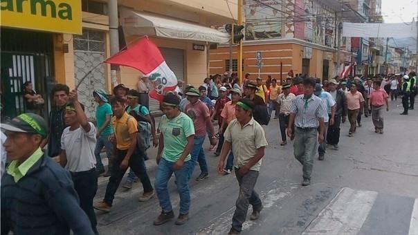 Campesinos de Huánuco planean llegar a Lima para que sus demandas sean atendidas por el Gobierno.