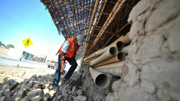 Evaluación de daños tras sismo en Caravelí
