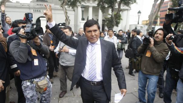 Absuelven a César Cataño por delito de lavado de activos y narcotráfico