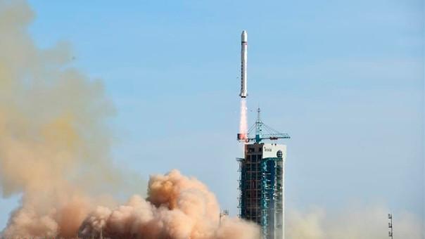 Los mandatarios de China e Italia se felicitaron mutuamente luego del lanzamiento.