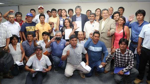 Carretera Central liberada tras acuerdo con dirigentes agrarios — Huánuco