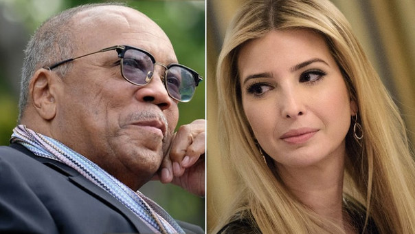 Quincy Jones & Ivanka Trump