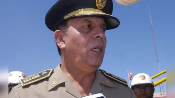 Jefe policial de Áncash, coronel Felipe Eslava