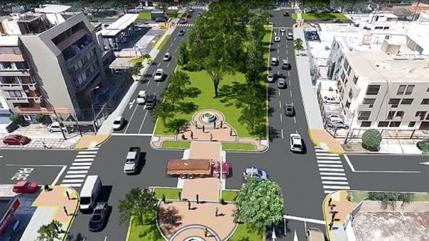 Esta es la propuesta de la Municipalidad de Lima para la avenida Aramburú.
