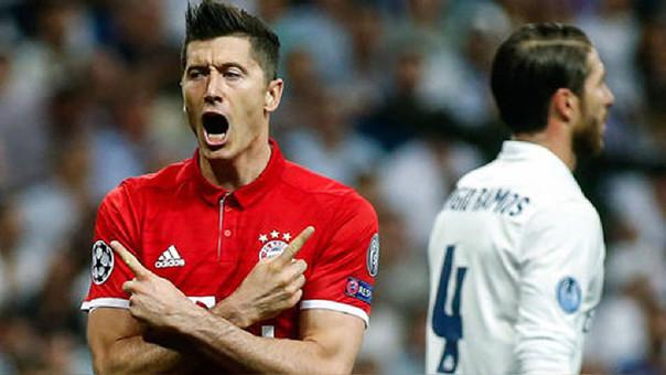 Lewandowski asevera que los rumores sobre el Madrid son especulaciones
