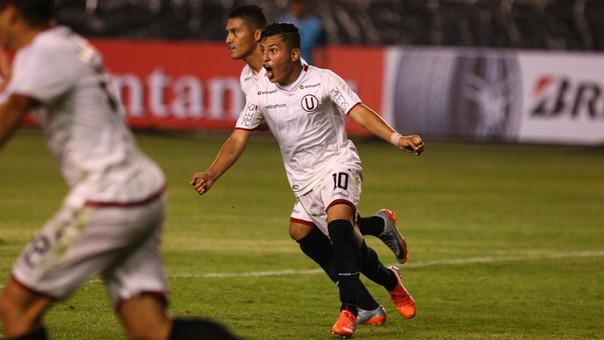 Alberto Quintero y su primer partido del año con Universitario de Deportes