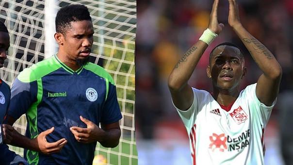 Robinho y Eto'o se estrenan como goleadores en sus nuevos equipos