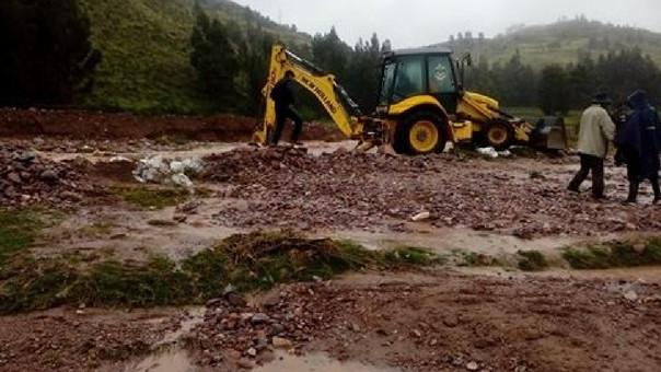desborde de río en Canchis cusco