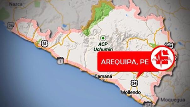 Sismo de 5.3 grados se registró en zona de Atico — Arequipa