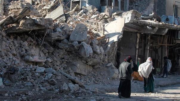 La ciudad de Mosul fue una de las principales afectadas por las incursiones del Estado Islámico.