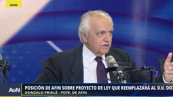 El presidente de AFIN, entidad que reúne a los concesionarios privados de servicios públicos, sostuvo que los gremios empresariales nunca detectaron los sobornos que entregaron las constructoras.