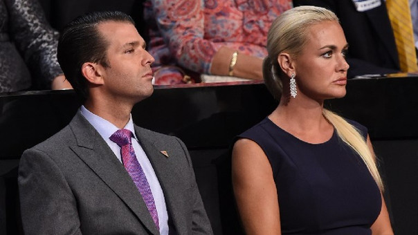 Donald Trump Junior está casado con Vanessa Trump desde 2005.