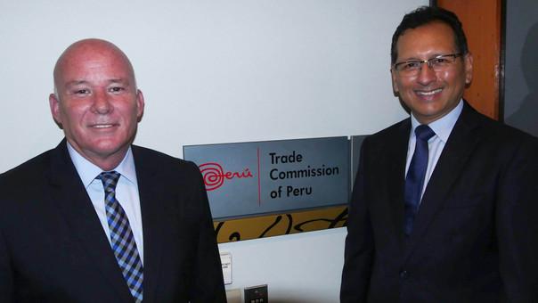 El ministro Ferreyros señaló que la oficina comercial en Australia buscará promover exportaciones, turismo, inversiones e imagen país.