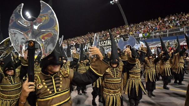 El carnaval se realizó en Sao Paulo durante los últimos cuatro días.