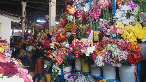 Flores Mercado de San Pedro