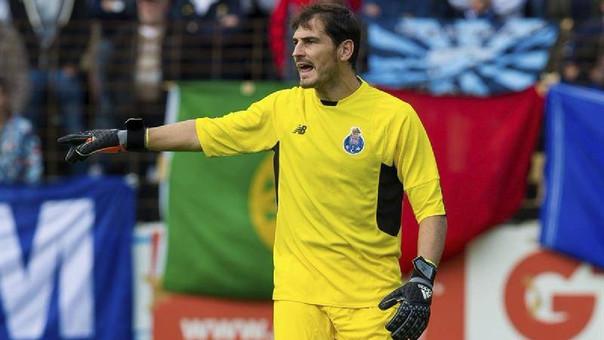 Iker Casillas estará en la banca de suplentes de Porto.