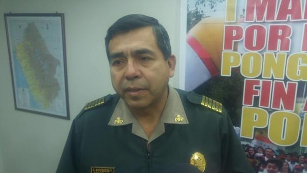 Jefe policial de Chimbote fue cambiado.