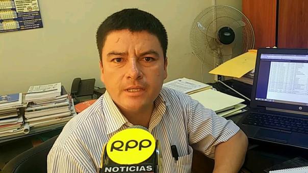 Manuel Rojas, Director ejecutivo de Gestión Institucional de la Gerencia de Educación