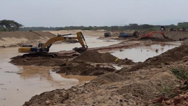 Prevención en río La Leche