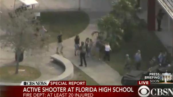 El tirador de Florida es un ex alumno del colegio