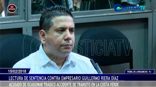 Emitirán sentencia por caso de accidente en la Costa Verde — Guillermo Riera