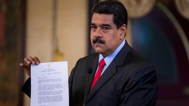 """Nicolás Maduro aseguró que """"por aire, tierra o mar llegaré a la Cumbre de las Américas""""."""