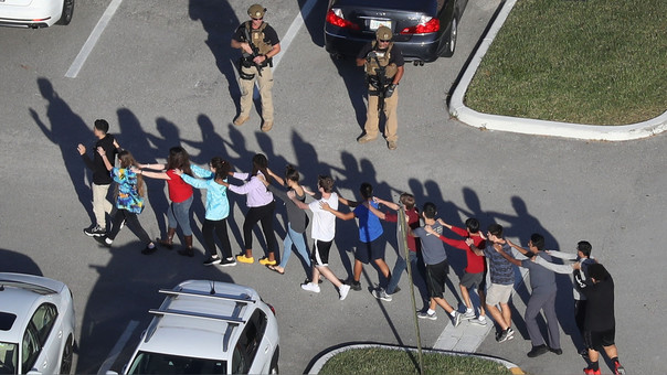US-SHOOTING-AT-HIGH-SCHOOL-IN-PARKLAND,-FLORIDA-INJURES-MULTIPLE