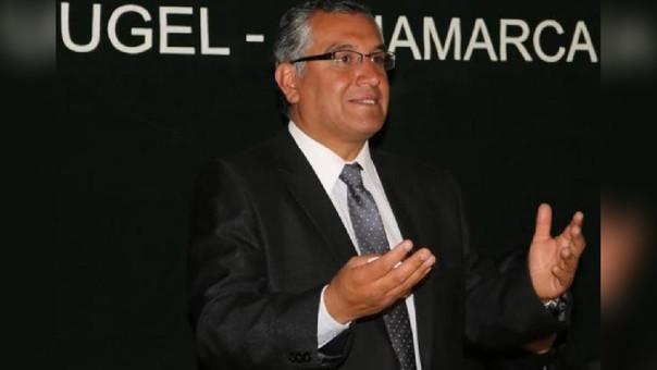 Luis Llaque director de la UGEL - Cajamarca busca mejorar presupuesto