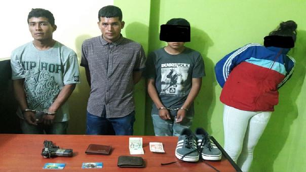 Dos adolescentes integraban banda de ladrones