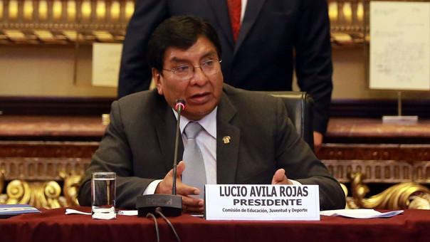 Congresista Lucio Ávila renunció a la bancada de Fuerza Popular