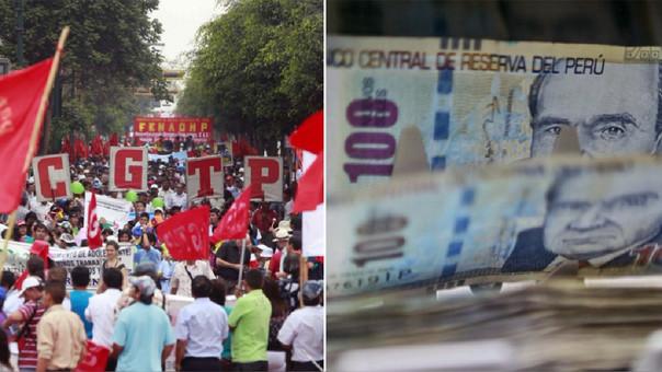 El presidente Pedro Pablo Kuczynski anunció la semana pasada que pediría al Consejo Nacional del Trabajo (CNT) reunirse para evaluar el sueldo mínimo en el país.