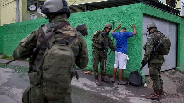 El Gobierno ha tomado una medida de excepción en Río de Janeiro.