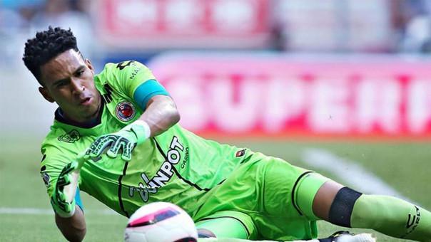 El guardameta peruano Pedro Gallese podrá jugar el Mundial de Rusia 2018