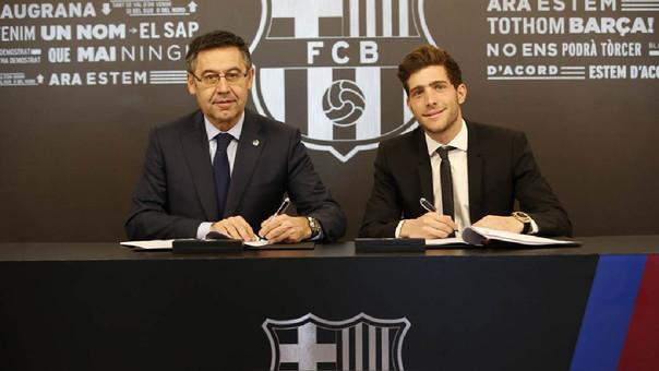 Sergi Roberto: Barcelona está en la mejor situación posible