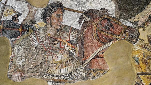 El conquistador nació en julio de 356 a.C. en Pela, Macedonia, y murió a los 32 años en junio de 323 a.C. en Babilonia.