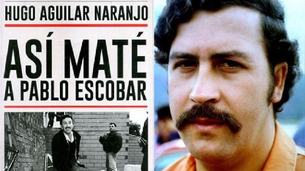 Hugo Aguilar también escribió un libro sobre la muerte de Pablo Escobar, publicado en el 2015.