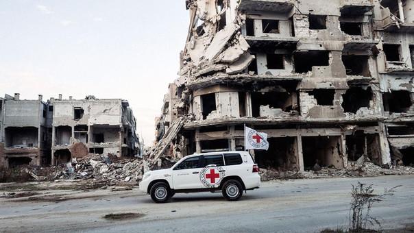 La Cruz Roja tiene 17 mil empleados en todo el mundo.