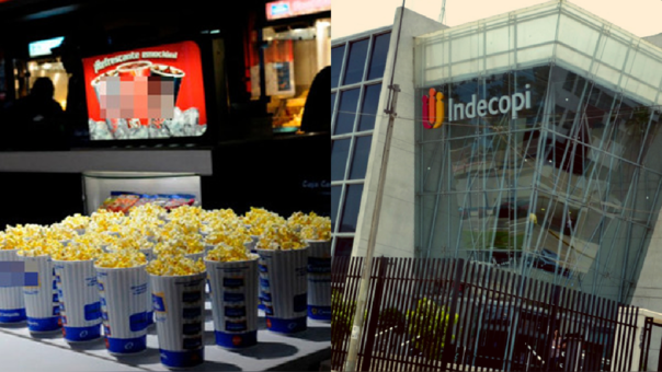 Indecopi obliga a Cineplanet y Cinemark a dejar entrar al cine con alimentos