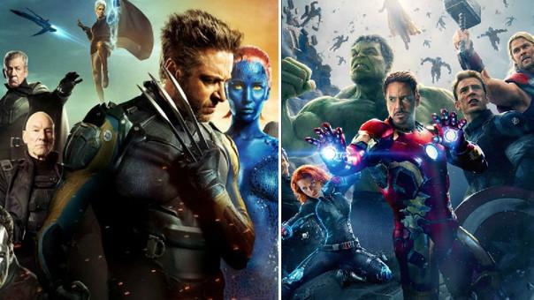 X-Men y Avengers