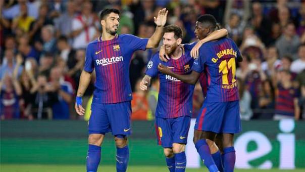 El equipo de Ernesto Valverde ganó su último encuentro por 6-1 al Girona con triplete de Luis Suárez.