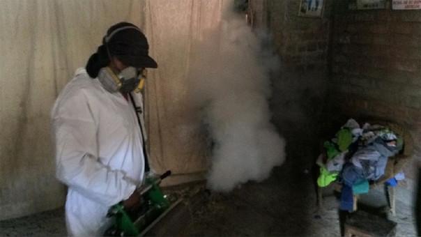 Se fumigará dos veces el distrito para combatir al vector del dengue.