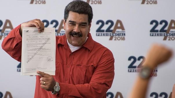 Nicolás Maduro se presenta al proceso sin mayor oposición.