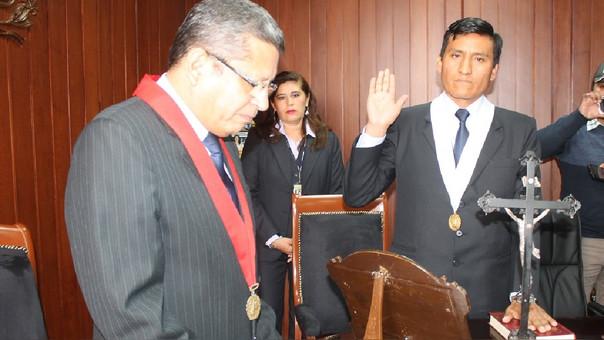 Jura al cargo juez de Juzgado Anticorrupción