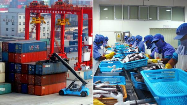 Los subsectores industriales cerraron en azul, pero el problema persiste con las actividades extractivas como la pesca, minería no metálica y maderas que cerraron en rojo.