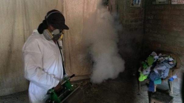 Trabajos de fumigación se ven limitados por falta de apoyo de la población